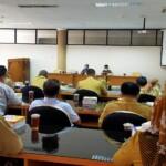 Pertemuan antara Asosiasi Perangkat Desa (APD) dengan DPRD Kabupaten Blitar Jatim (Robby / Mattanews.co)