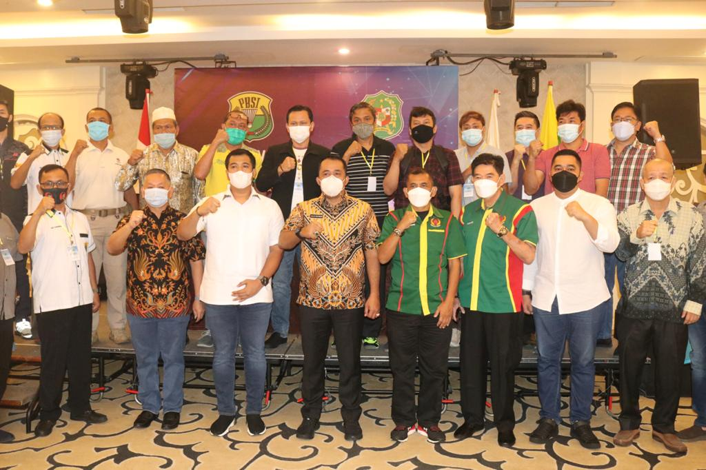 usyawarah Kota (Muskot) Persatuan Bulu Tangkis Seluruh Indonesia (PBSI) Kota Medan Sumut (Dok. Humas Pemkot Medan / Mattanews.co)