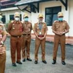 Gubernur Jambi terpilih yang masih menjabat sebagai Bupati Merangin Al Haris saat memberi arahan ke para ASN di Pemkab Merangin (Yulisman / Mattanews.co)