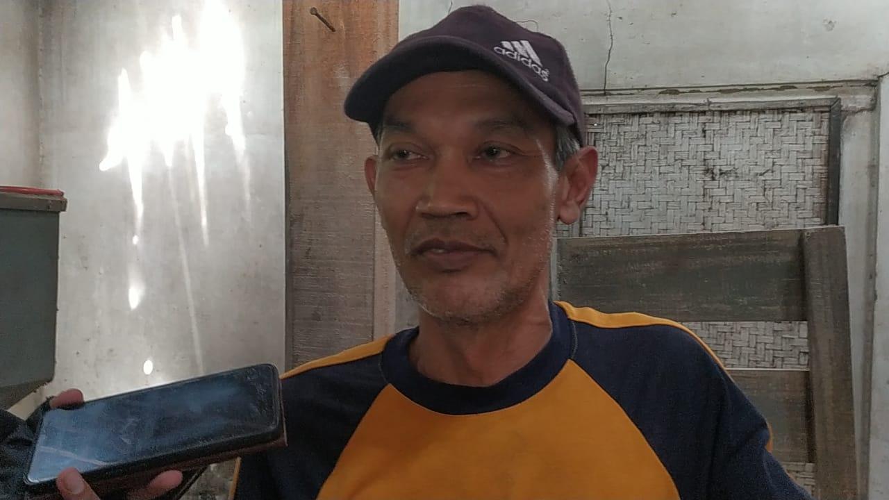 Salah satu pemilik penggilingan padi lokal Ahda Islami Nur