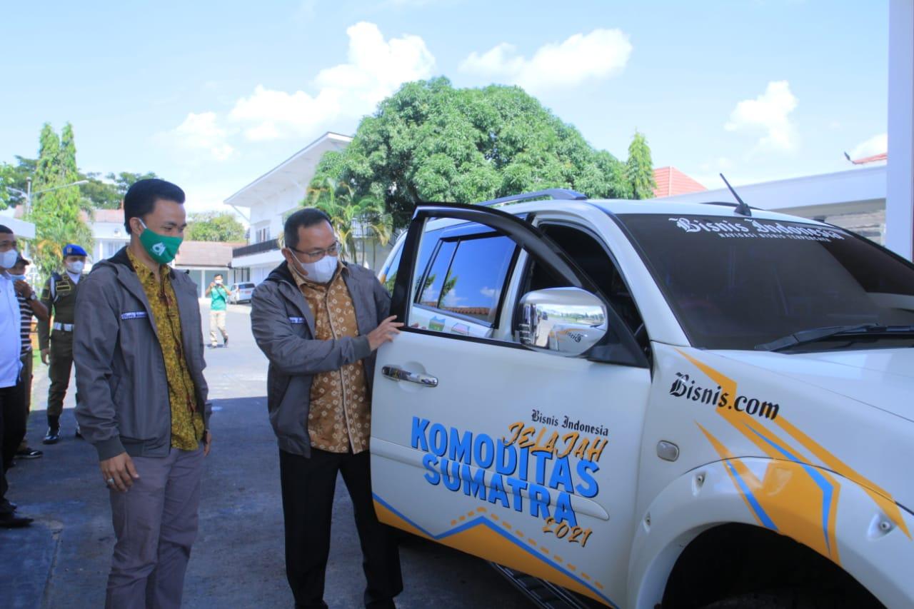 Tim Jelajah Komoditas Sumatera Susuri Potensi Baru Perkebunan Muba