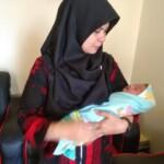 Bayi berjenis laki-laki yang dibuang setelah dilahirkan di Tanah Datar Sumbar (M Rafi / Mattanews.co)