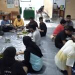 Kuliah kerja nyata ( KKN ) PM Pasca Bencana Universitas Negeri Makassar (UNM) Kabupaten Mamuju Kecamatan Simboro bersama Siswa dan para guru SMK Yapma Sulbar menggelar syukuran dalam rangka menyambut bulan suci ramadhan 1442 H.