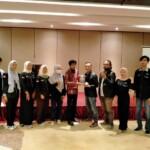 Direktur Utama (Dirut) Media Online Nasional Mattanews.co, Ardhy Fitriansyah resmi melepaskan para mahasiswa dan mahasiswi yang mengikuti Praktek Kerja Lapangan (PKL) Prodi Jurnalistik Fakultas Dakwah dan Komunikasi (FDK) Universitas Islam Negeri Raden Fatah (UIN Rafah) Palembang.
