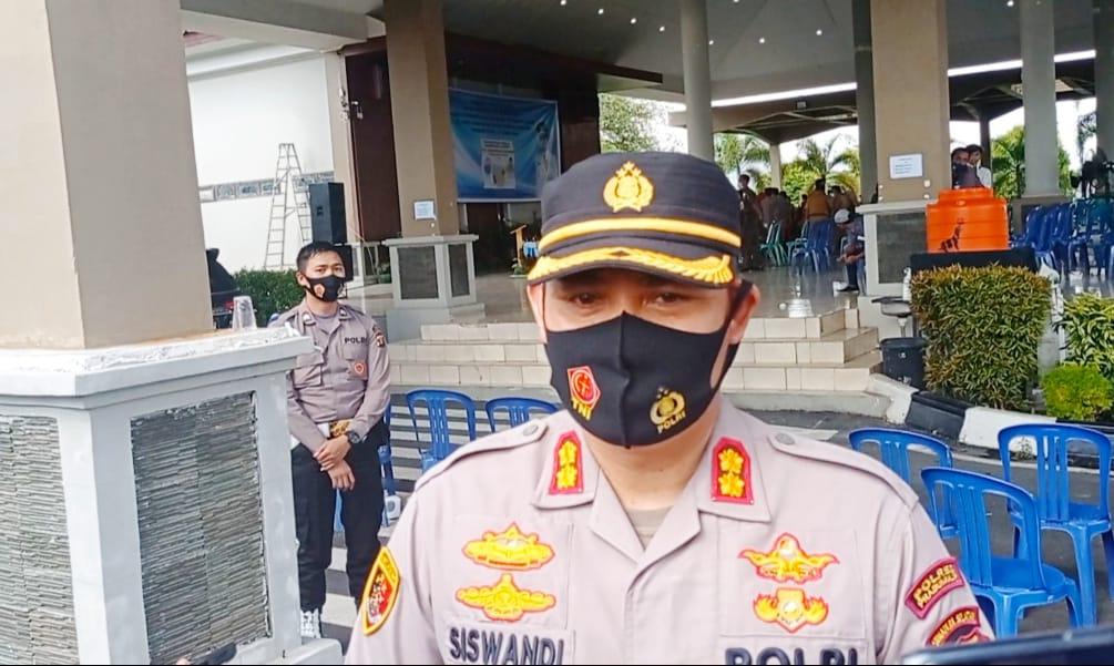 Kapolres Prabumulih, AKBP. Siswandi Sik, SH,.MH