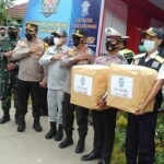 Pos Lantas Tangguh di Terminal Tanjungpura Karawang