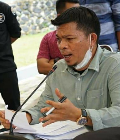 Wakil ketua komisi II DPRD Sulbar Muhammad Hatta Kainang