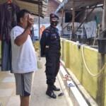 Brimob Jabar laksanakan silaturahmi kamtibmas cek ketahanan pangan masyarakat di Desa Binaan Batalyon C Pelopor tepatnya di Desa Wanasaba Kidul, Kecamatan Talun Kabupaten Cirebon pada Minggu, (18/04/2021).