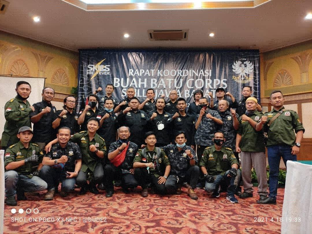 Buah Batu Corps (BBC) Skills Jawa Barat gelar Rapat Koordinasi (Rakor) pertamanya di tahun 2021,