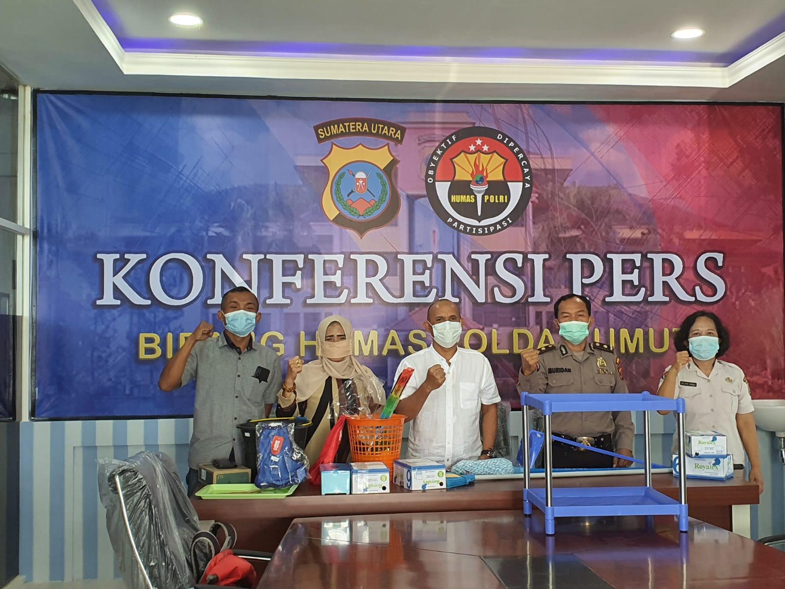 Balai Wartawan di Polda Sumut (Tison Sembiring / Mattanews.co)