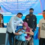 Bank Sumsel Babel (BSB) Cabang Prabumulih kembali melaksanakan kegiatan peduli sesama.