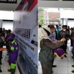 Penyerahan THR dan Sembako ini langsung diserahkan Bupati Ciamis Herdiat Sunarya didampingi stake holder terkait dari Dinas Perumahan Rakyat Kawasan Permukiman dan Lingkungan Hidup (DPRKPLH).