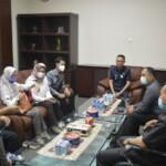Wakil Bupati H.M. Adi Nugraha Purna Yudha, S.H. Pimpin Rapat Audensi dengan Tim Ombusdman perwakilan Sumatera Selatan yang membahas Penilaian Kepatuhan Standar Pelayanan Publik Tahun 2021.