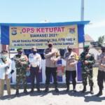 Operasi Ketupat siamasei 2021, Polresta mamuju mendirikan 6 Pos pengamanan dan pelayanan Lebaran