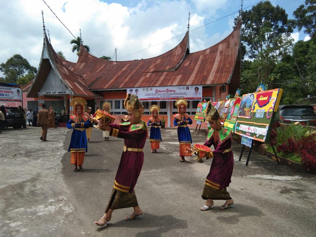Sanggar Seni Gobang Nan 7 Tanah Datar (M Rafi / Mattanews.co)