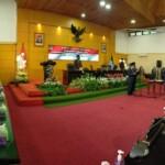 Abdus Sakur dilantik jadi PAW DPRD Kota Blitar Jatim (Robby / Mattanews.co)