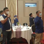 Rakor dan halal bihalal digelar DPW Partai NasDem Sumbar (M Rafi / Mattanews.co)
