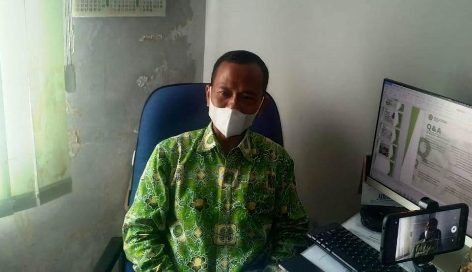 Kasi Penyelenggaraan Haji dan Umrah Kemenag OKU Abdul Mu'is (Satrio / Mattanews.co)