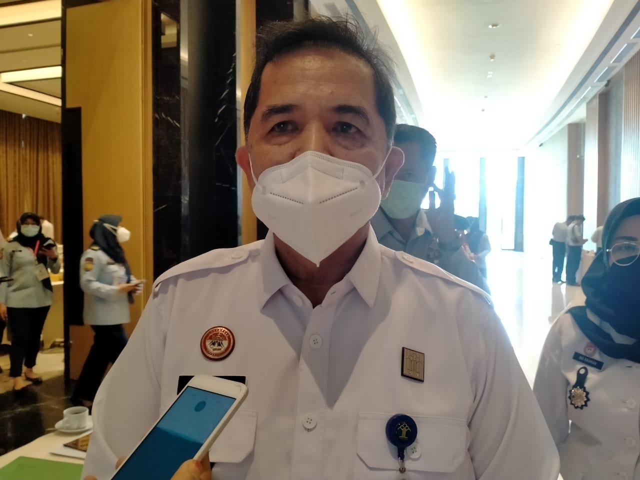 Kepala Divisi Permasyarakatan (Kadivpas) Kementerian Hukum dan HAM (Kemenkumham) Sumatera Selatan (Sumsel) Dadi Mulyadi (Reza Fajri / Mattanews.co)