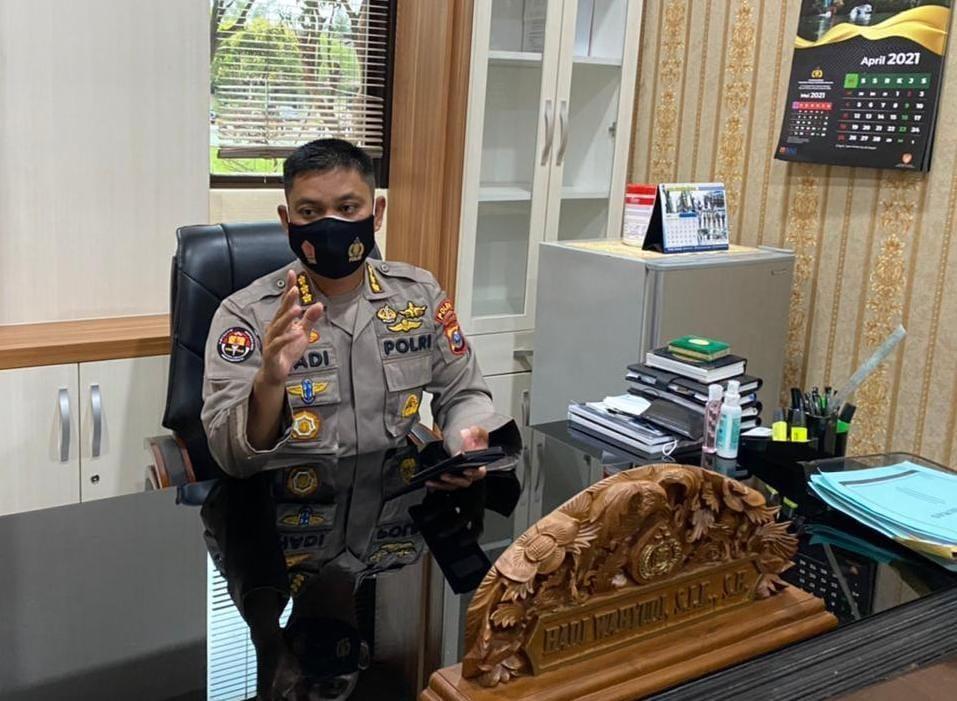 Kabid Humas Polda Sumut Kombes Pol Hadi Wahyudi (Tison Sembiring / Mattanews.co)