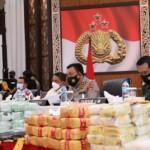 Polda Sumut merilis ungkap 35 kasus peredaran narkoba di Sumut (Tison Sembiring / Mattanews.co)