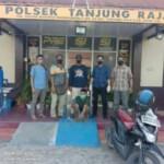 Begal sepeda motor diciduk tim Polsek Tanjung Raja Ogan Ilir Sumsel (Salifuddin / Mattanews.co)