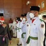 Wako Pagar Alam melantik 68 orang anggota Paskibraka Pagar Alam Sumsel (Rony / Mattanews.co)