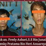 Dua orang tersangka sabu ditangkap Polres Lahat Sumsel (Dok. Humas Polres Lahat / Mattanews.co)
