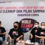Aksi Clean Up dan Pilih Sampah dalam rangka WCD di Kabupaten Ciamis Jabar (Alvine / Mattanews.co)
