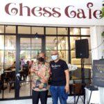 Cafe Chess di Kota Palembang Sumsel (Nano / Mattanews.co)