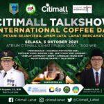 Citimall Talkshow - International Coffee Day di Lahat Sumsel (Dok. Humas Dinas Perkebunan Lahat / Mattanews.co)