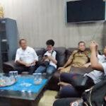 Konferensi pers terkait viralnya video aset di rumdin Sekda Lahat hilang (Agustoni / Mattanews.co)