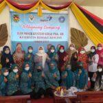 Tim Monitoring Evaluasi (Monev) tingkat Kabupaten Purwakarta saat mengunjungi Desa Wanawali Purwakarta Jabar (Agus Sugianto / Mattanews.co)